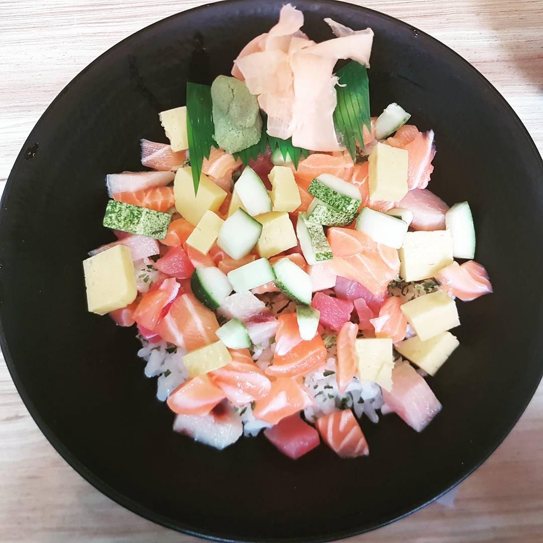 cheap chirashi don- sushi zanmai