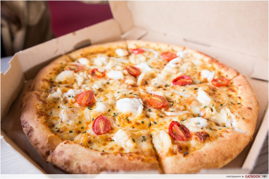 domino's pizza chilli crab
