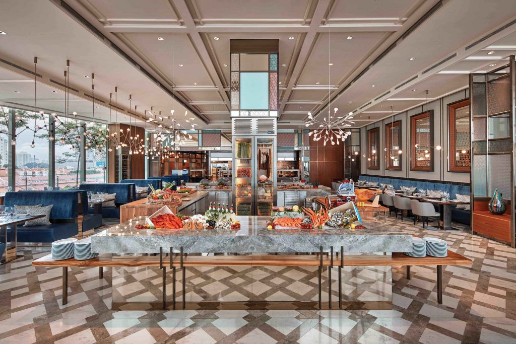 easter brunch buffet racines sofitel singapore