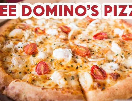 free domino's pizza chilli crab 1