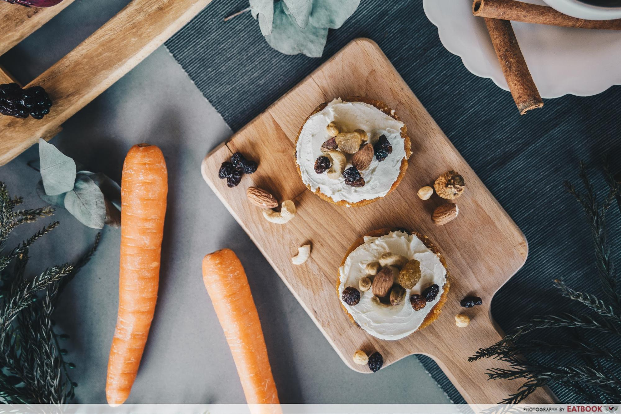 low-carb breakfasts - carrot cake