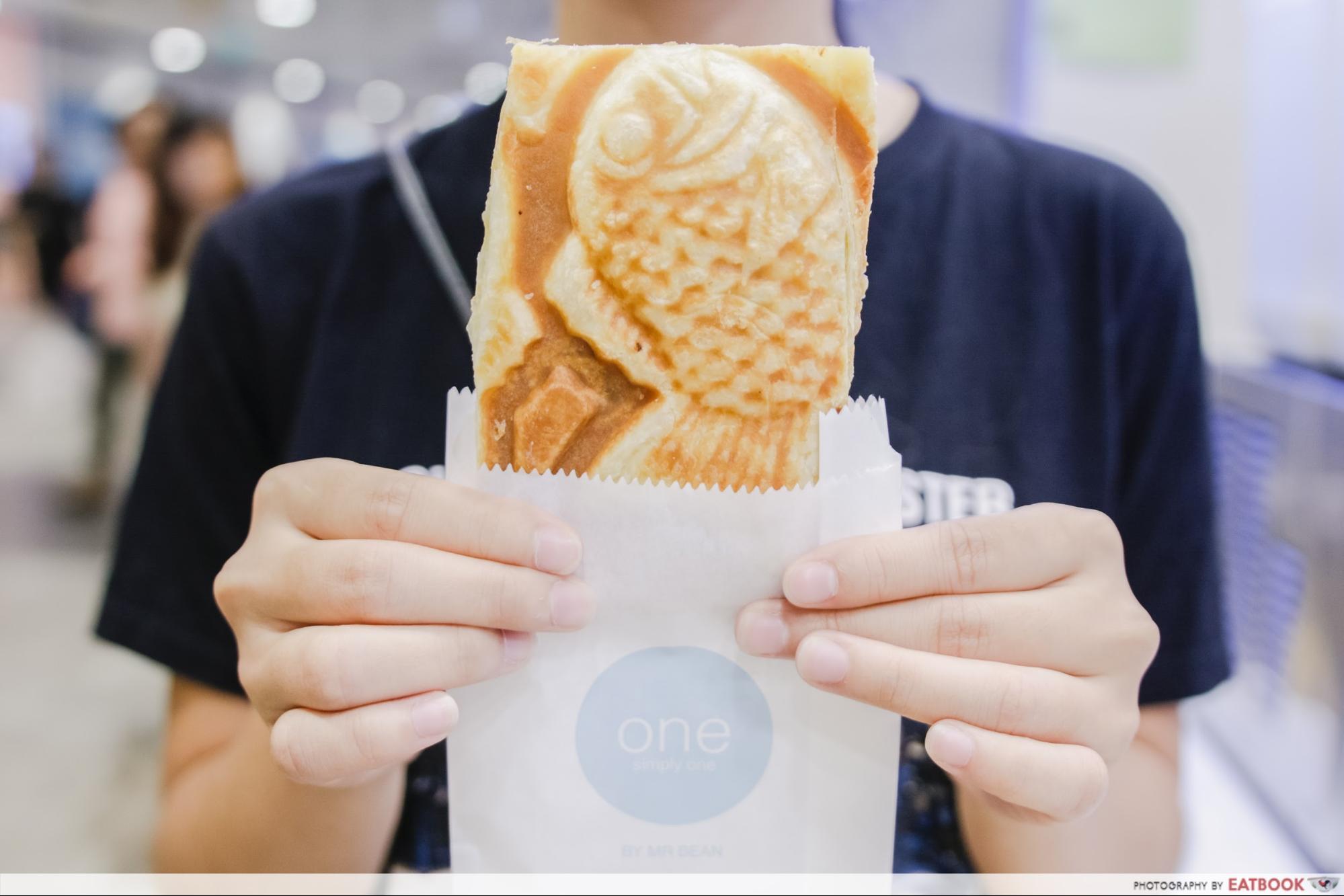 one - croissant taiyaki