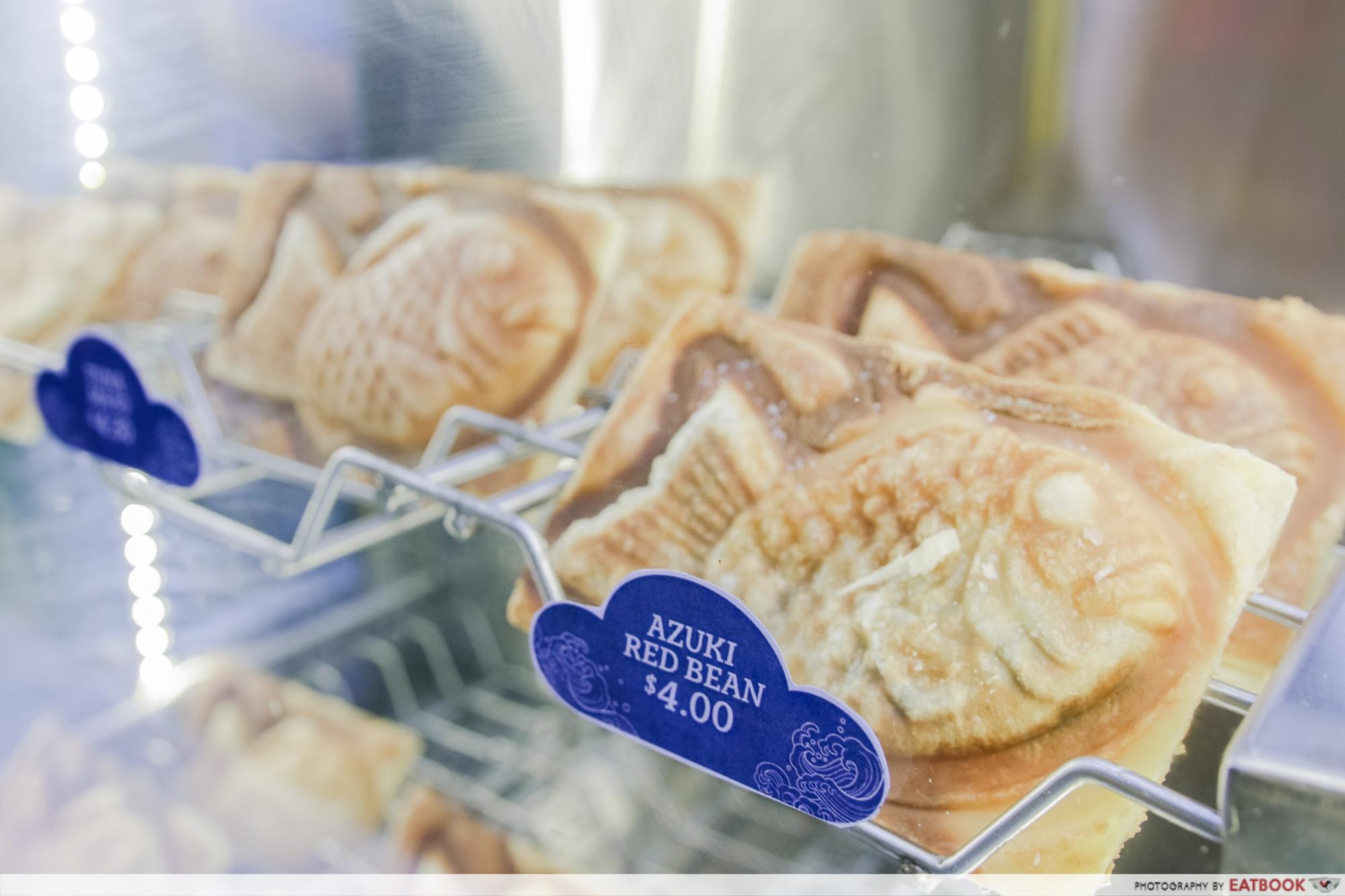 one - red bean taiyaki