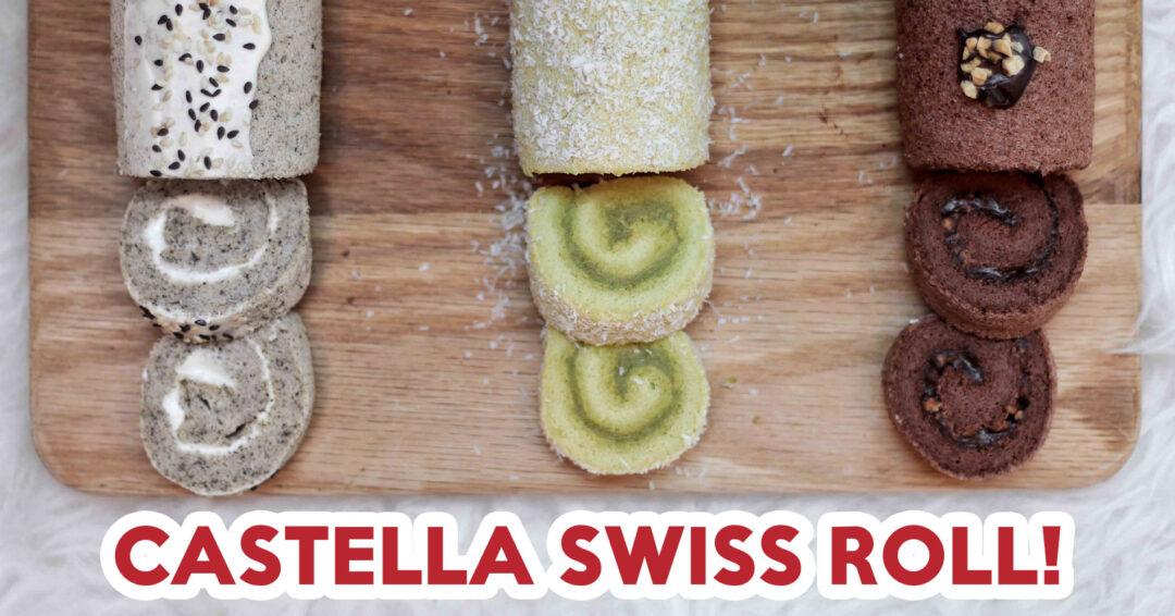 Ah Mah Homemade Cake Blanket Castella Swiss Roll