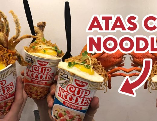 Atas cup noodles nissin ft img