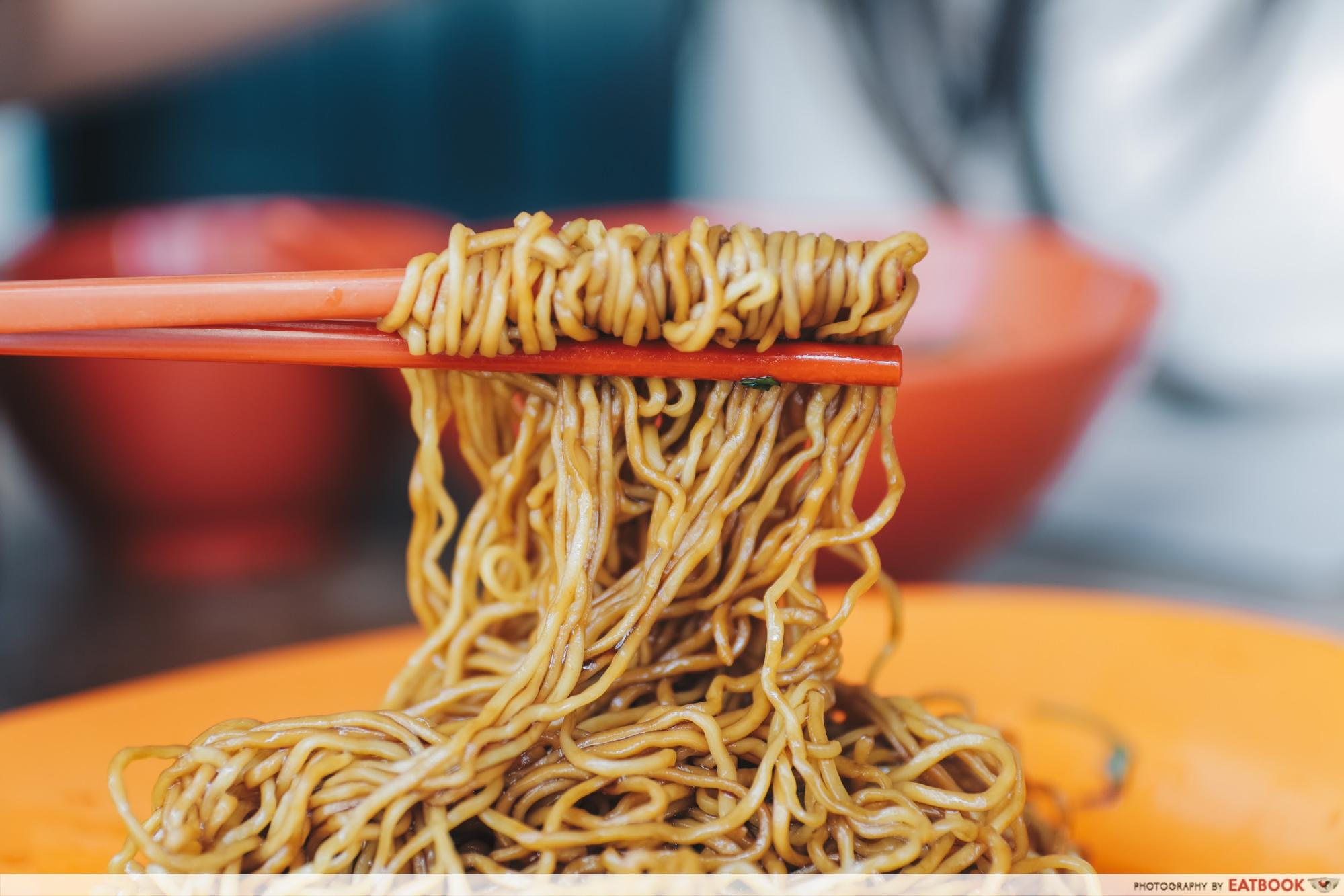 Battle of Chew Kee and Chiew Kee - Chew Kee's noodles