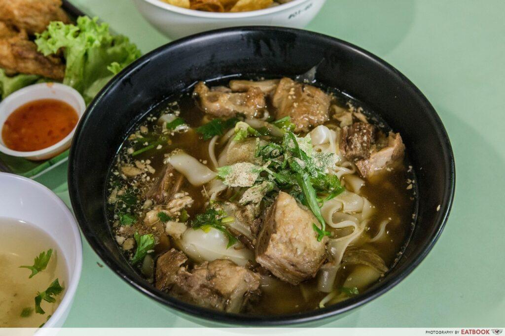 Beef Noodles Soup - Gin Sen