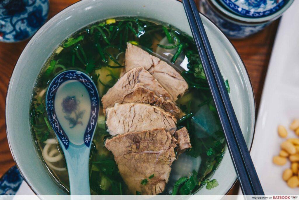 Beef Noodles Soup - Yi Zun Noodle