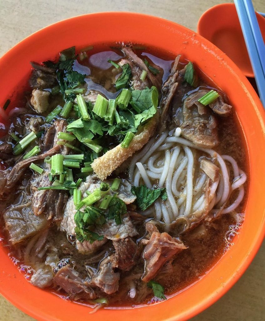 Beef Noodles Soup - Zheng Yi Hainanese Beef Noodles