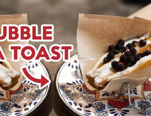 Bubble tea toast ft img