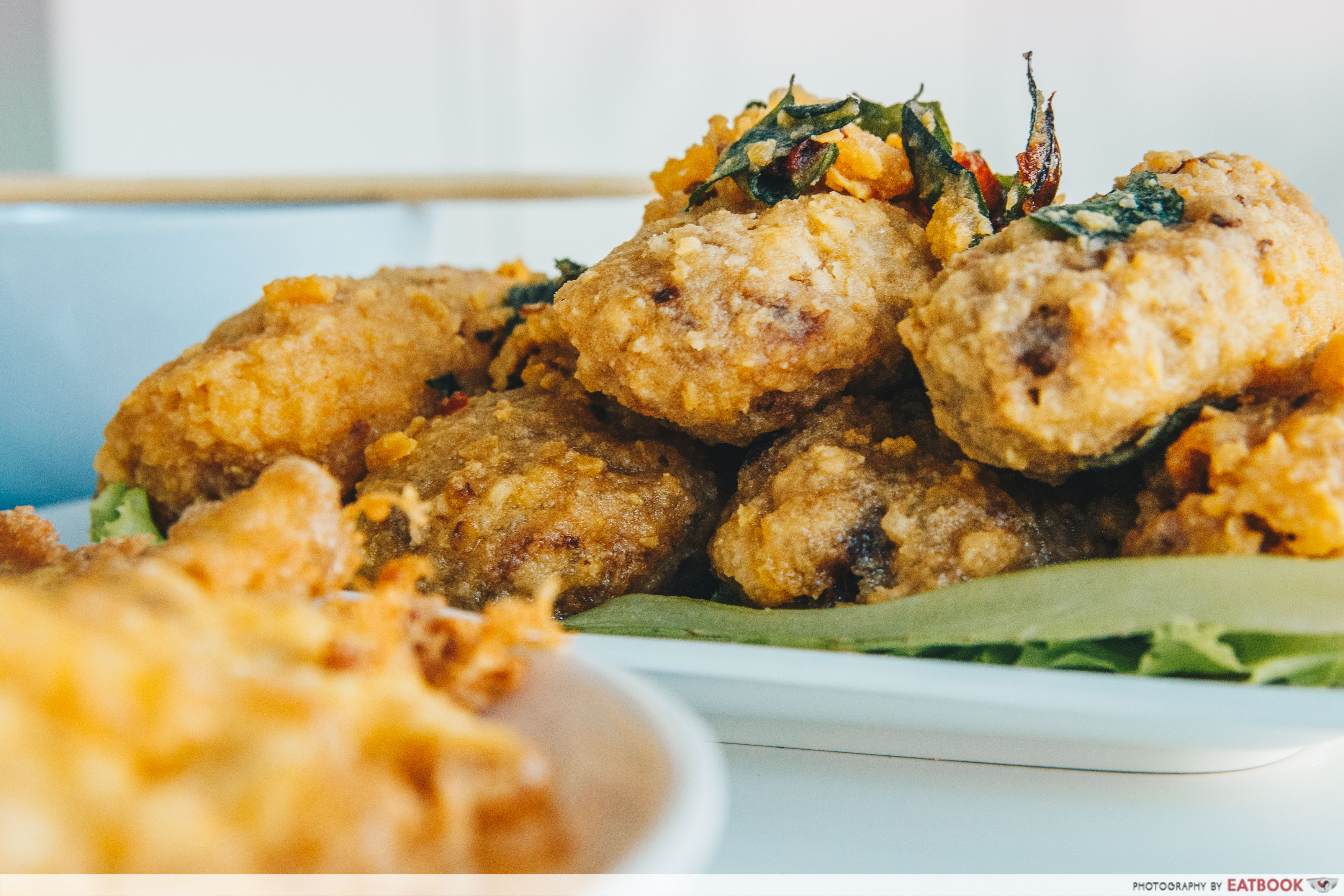 Bubble's Kitchen- salted egg chicken wings