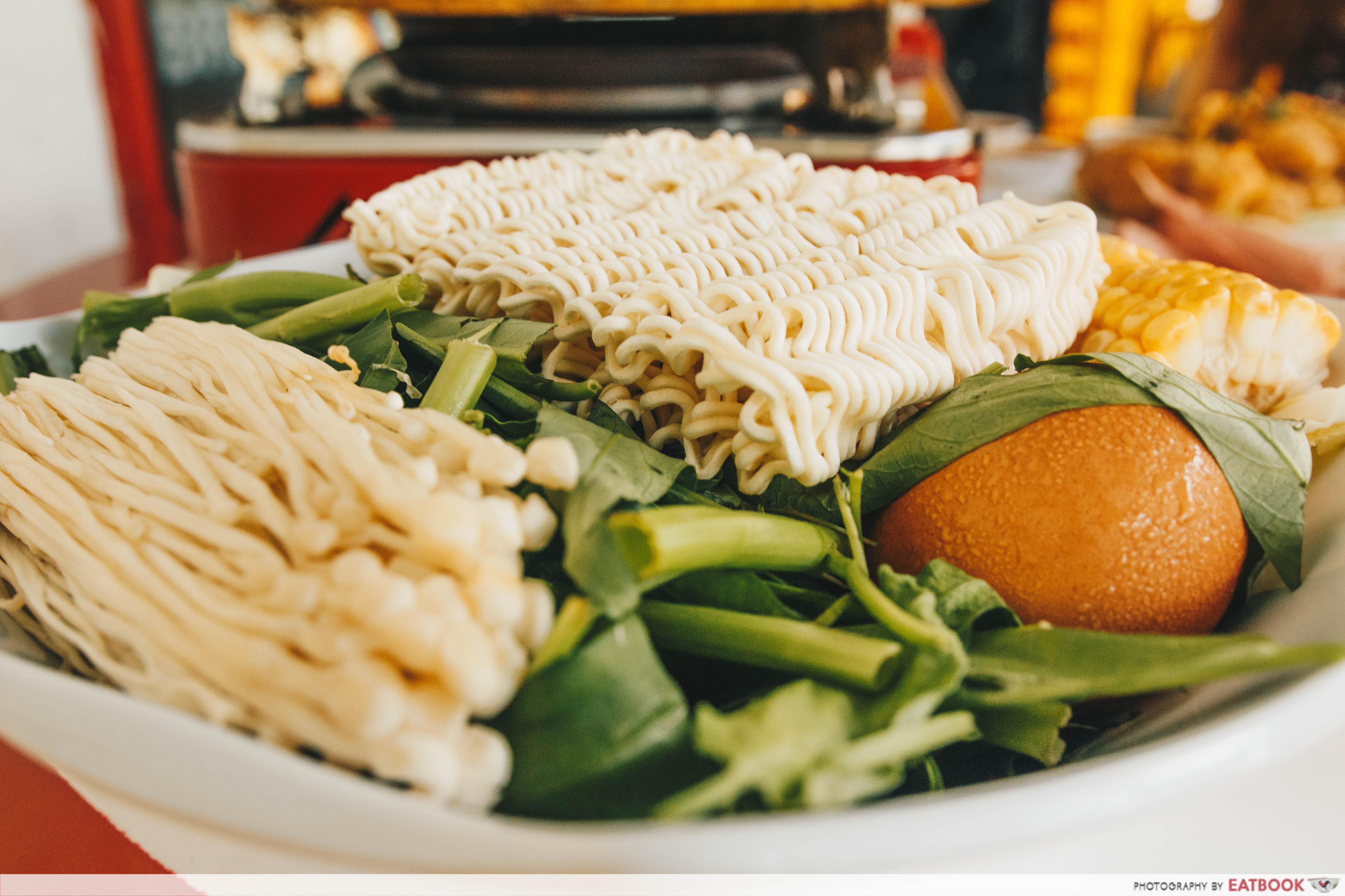Bubble's Kitchen- vegetable platter