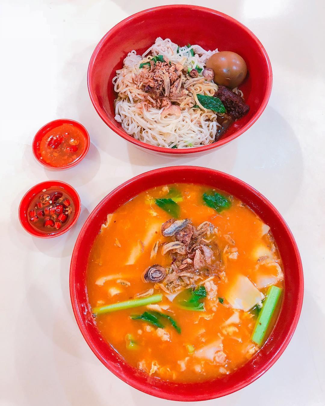 Bukit Batok Food - Ban Mian Fish Soup