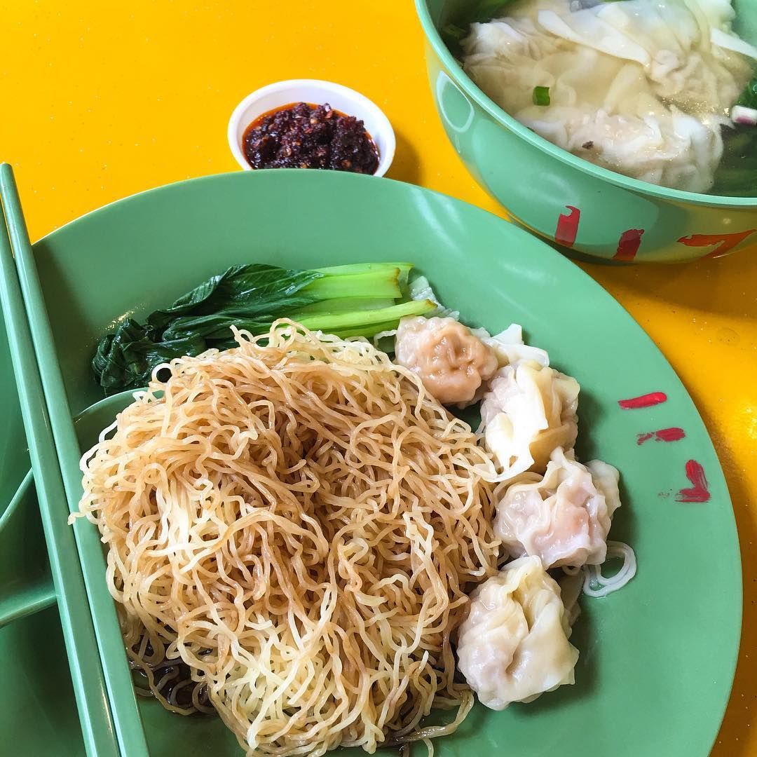 Bukit Batok Food - Master Tang Wanton Mee