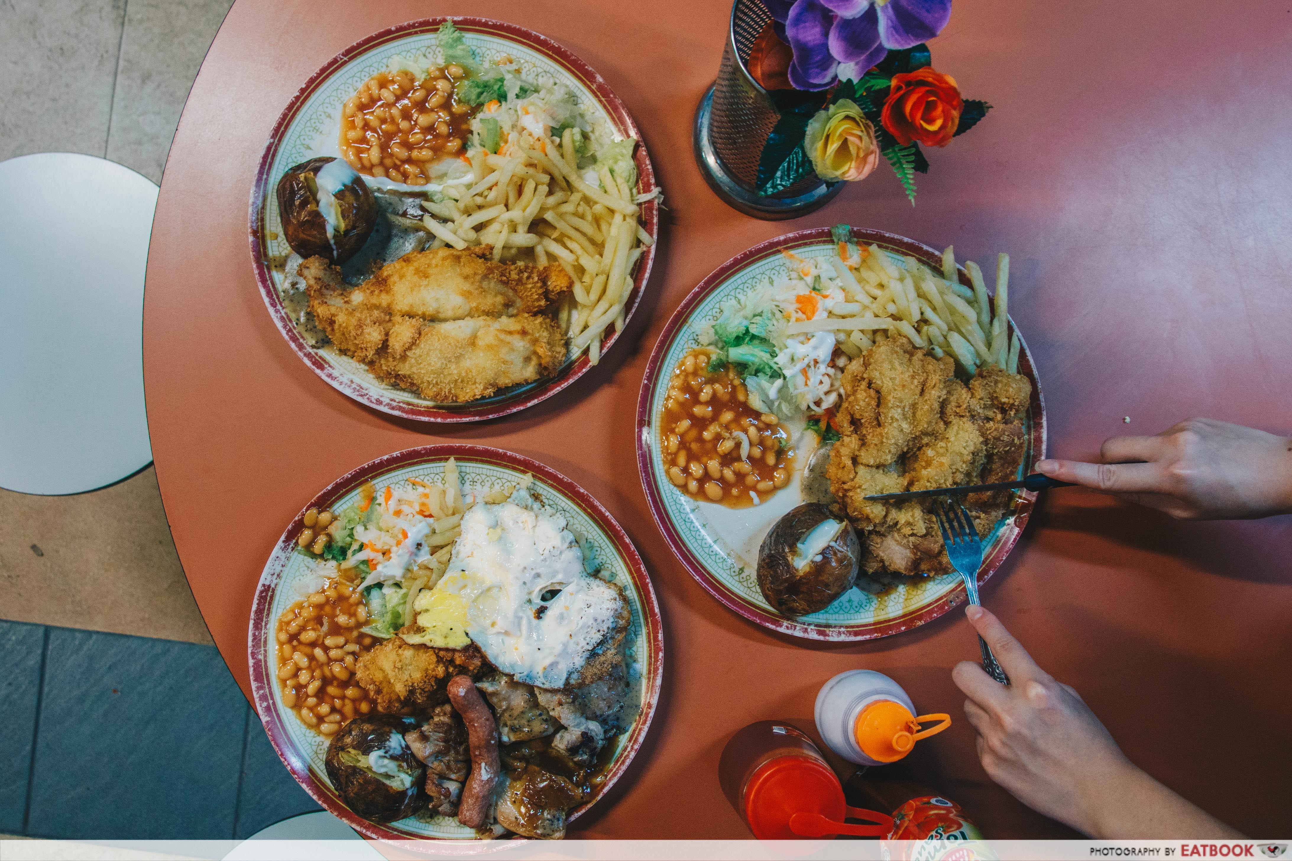 Chef Hainanese Western Food-flatlay