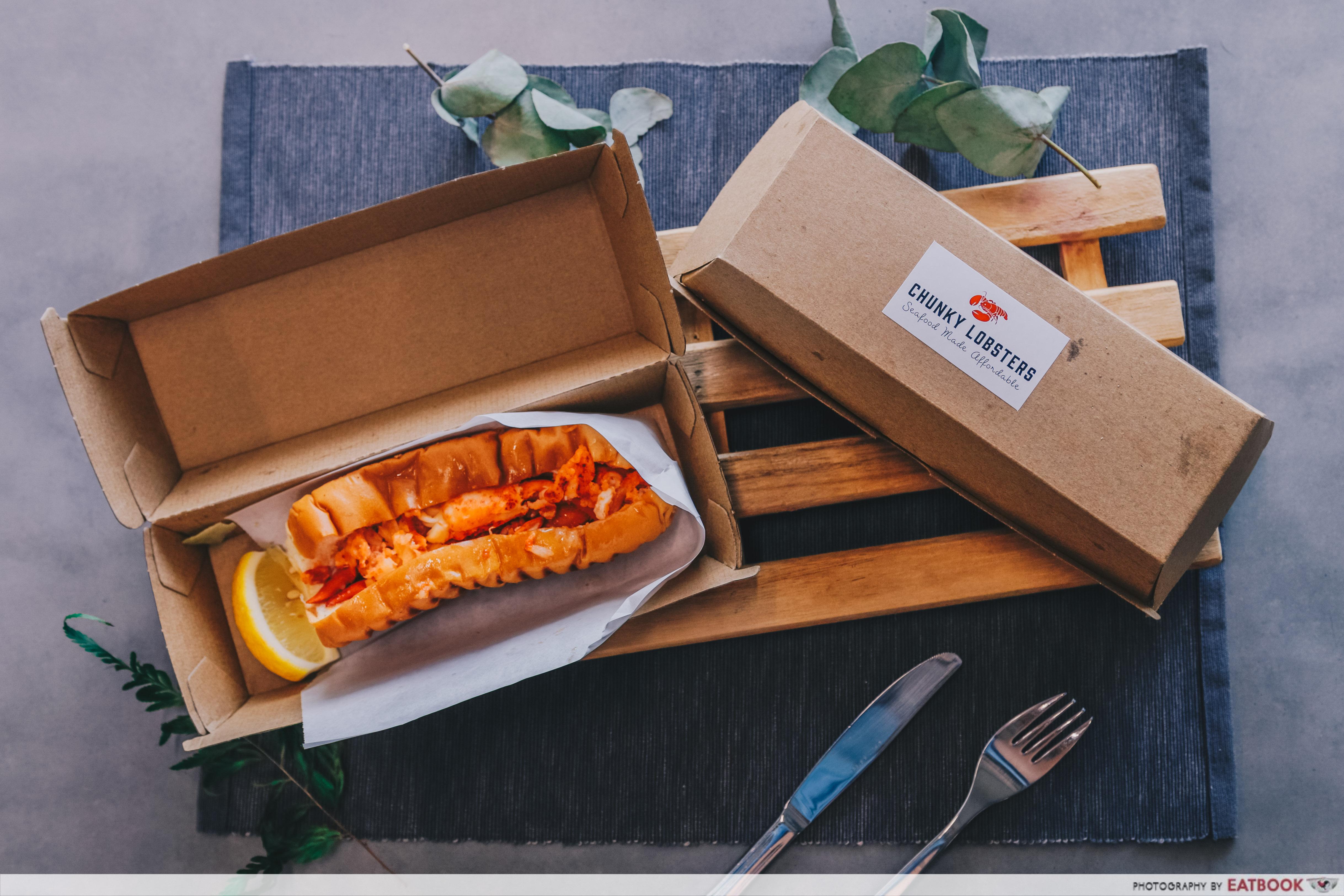 Chunky Lobsters - flatlay