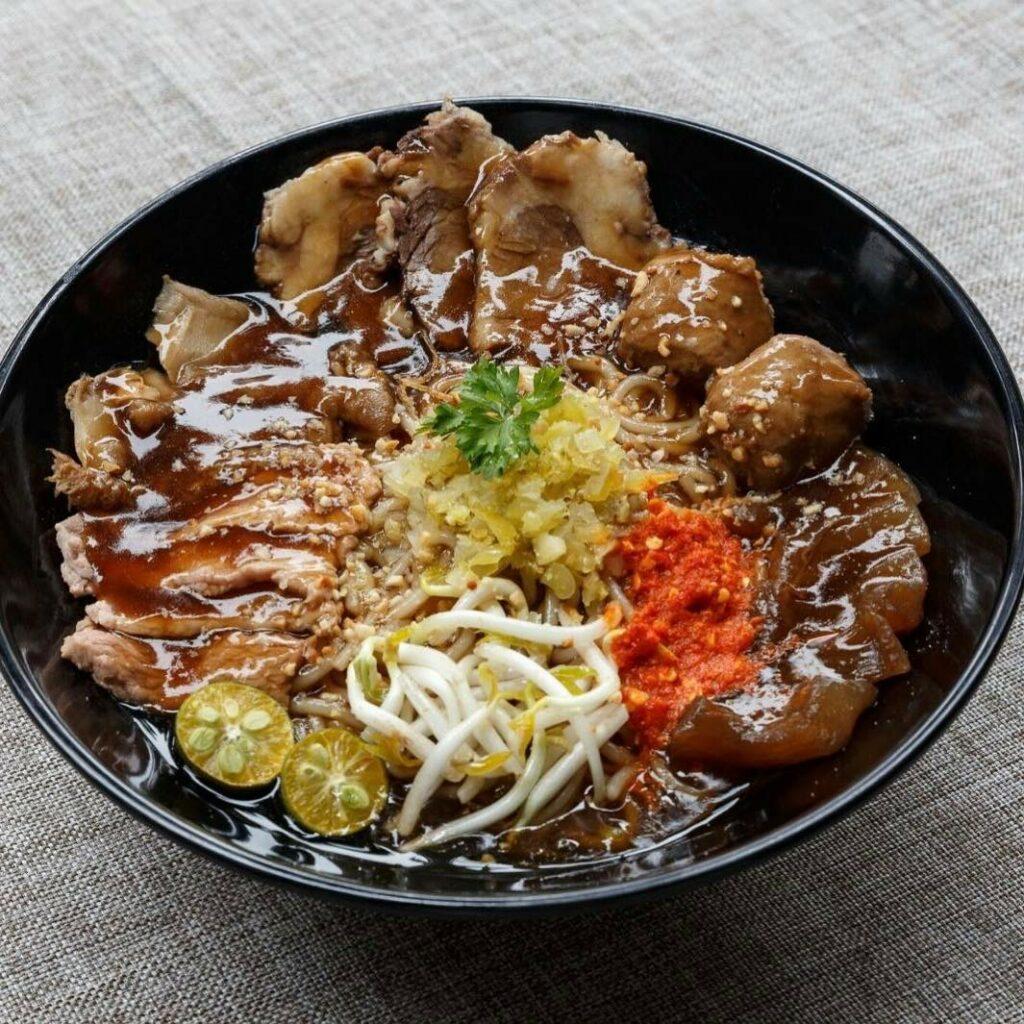 Dry Beef Noodles - Blanco Beef Noodles