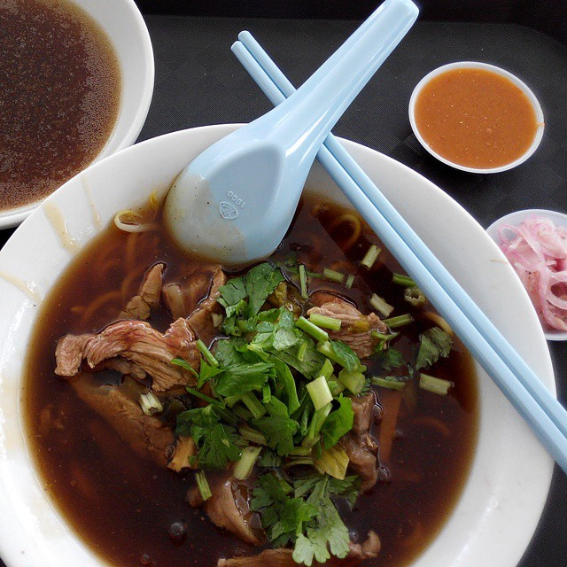 Dry Beef Noodles - Cheng Kee Beef Kway Teow