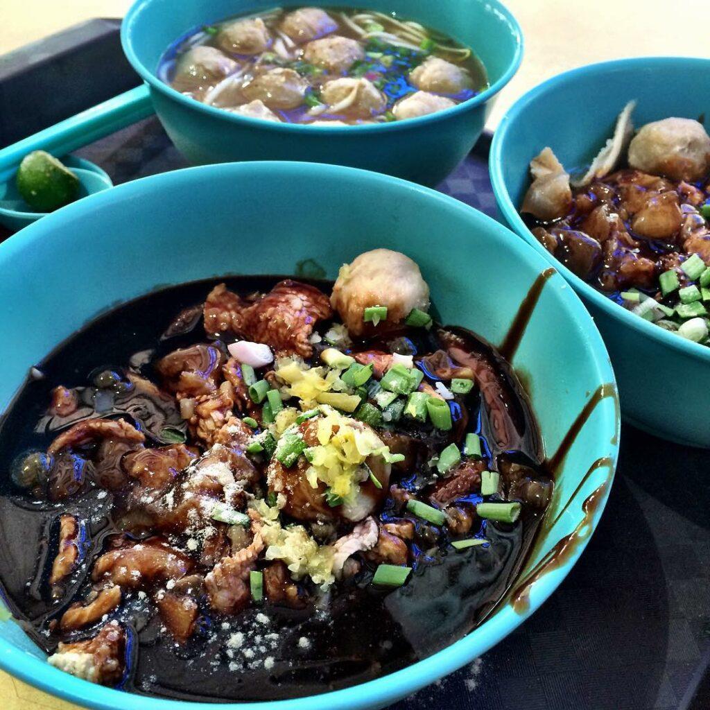 Dry Beef Noodles - Hai Nan Xing Zhou Beef Noodles