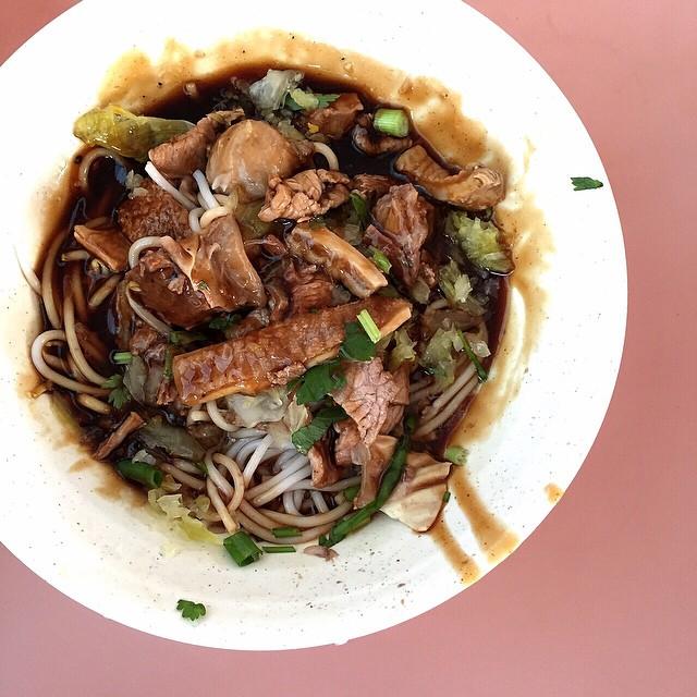 Dry Beef Noodles - Hong Heng Beef Noodles & Laksa