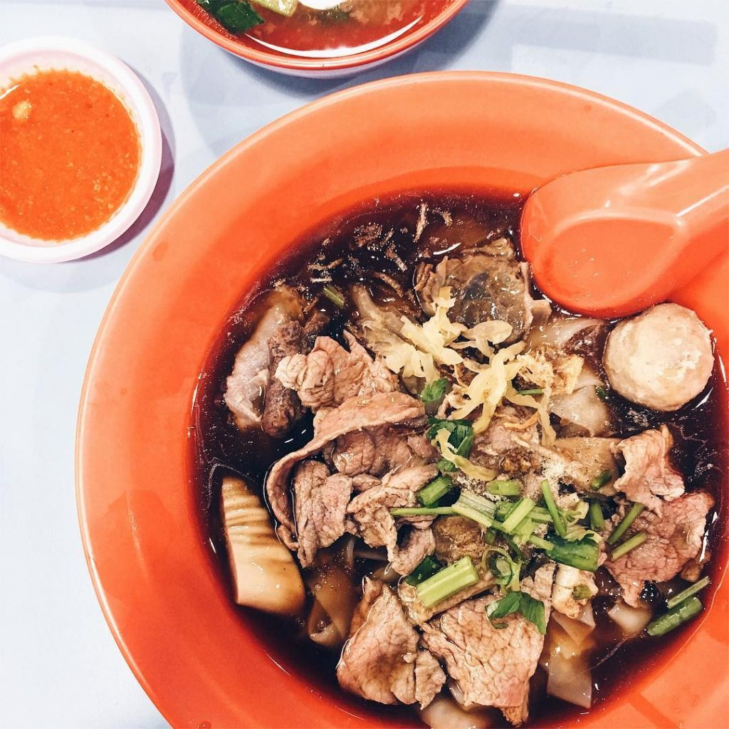 Dry Beef Noodles - Hong Kee Beef Noodles