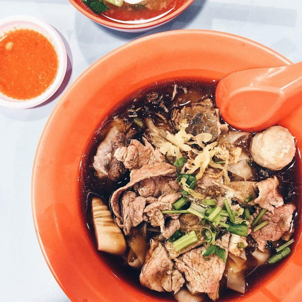 Dry Beef Noodles - Hong Kee Beef Noodles