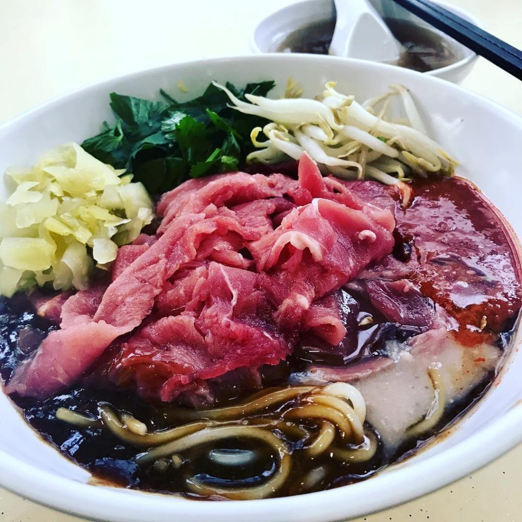 Dry Beef Noodles - Original Orchard EMerald Beef Noodles