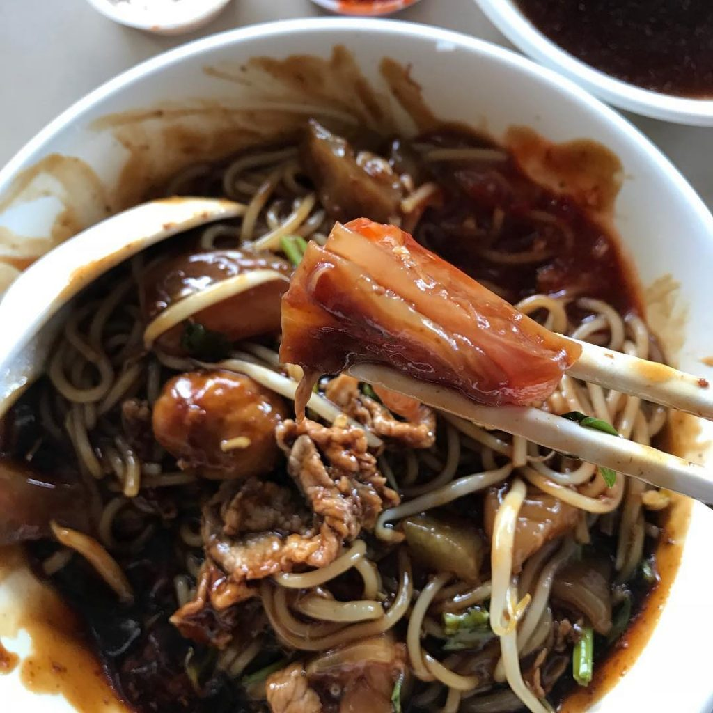Dry Beef Noodles - TPY Hwa Heng Beef Noodles