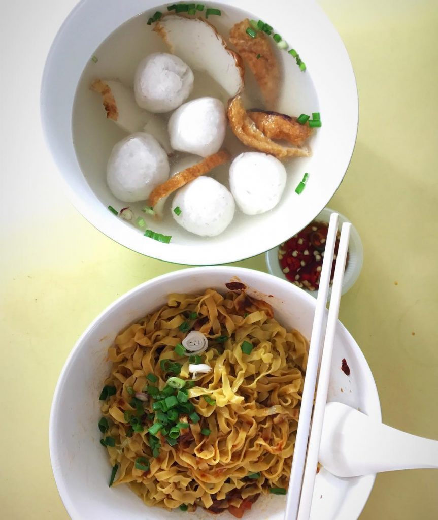 Holland Drive Food Centre - Ru Ji Kitchen Fishball Noodles