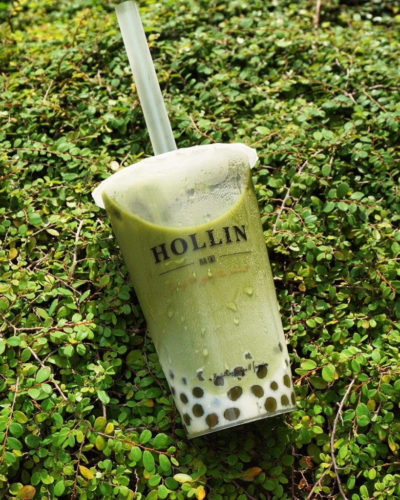 Hollin Bubble Tea Matcha
