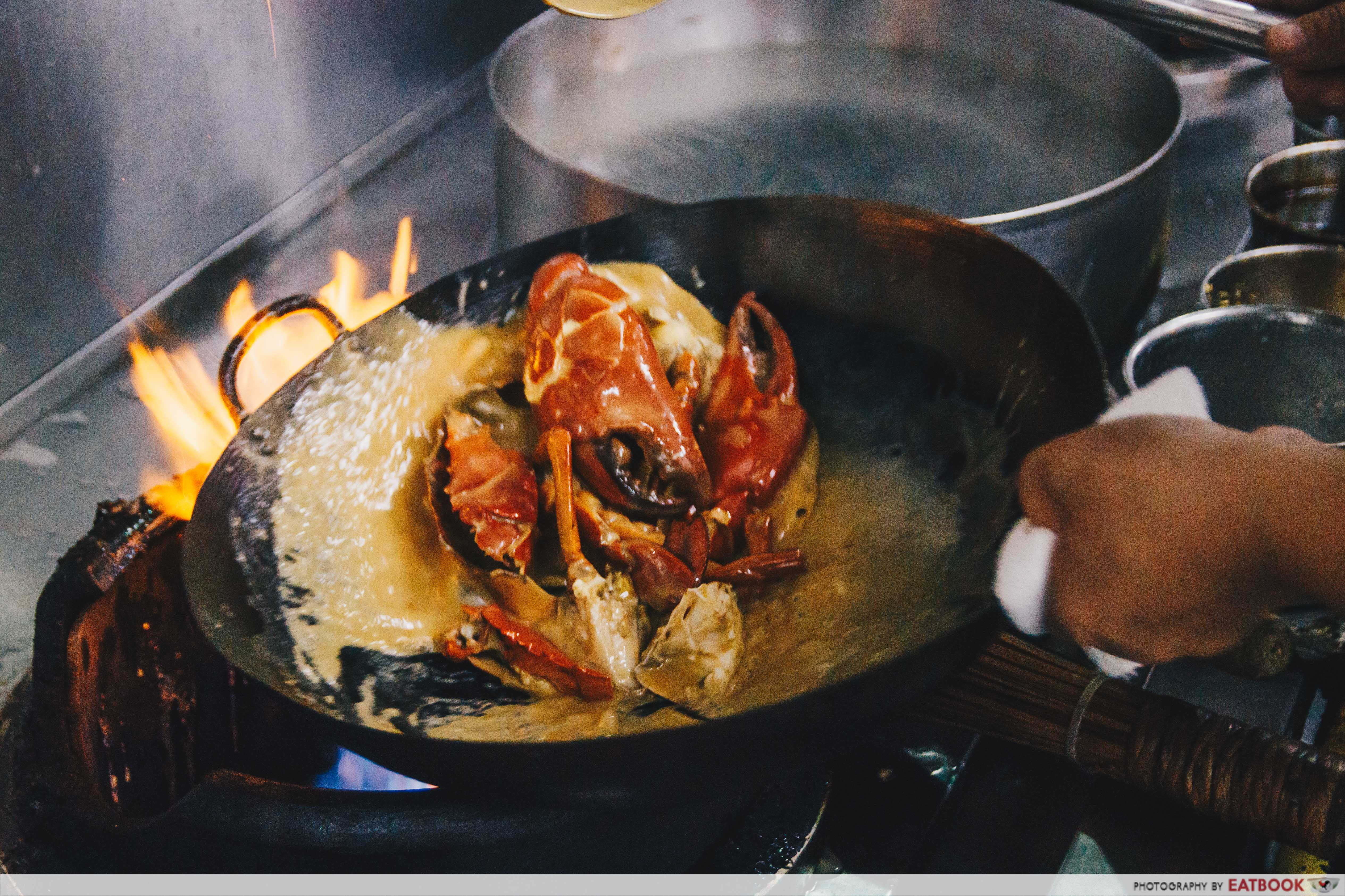 House of Seafood - chef cooking
