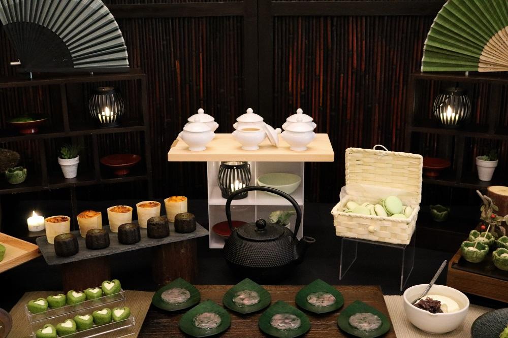Matcha dessert buffet (2)