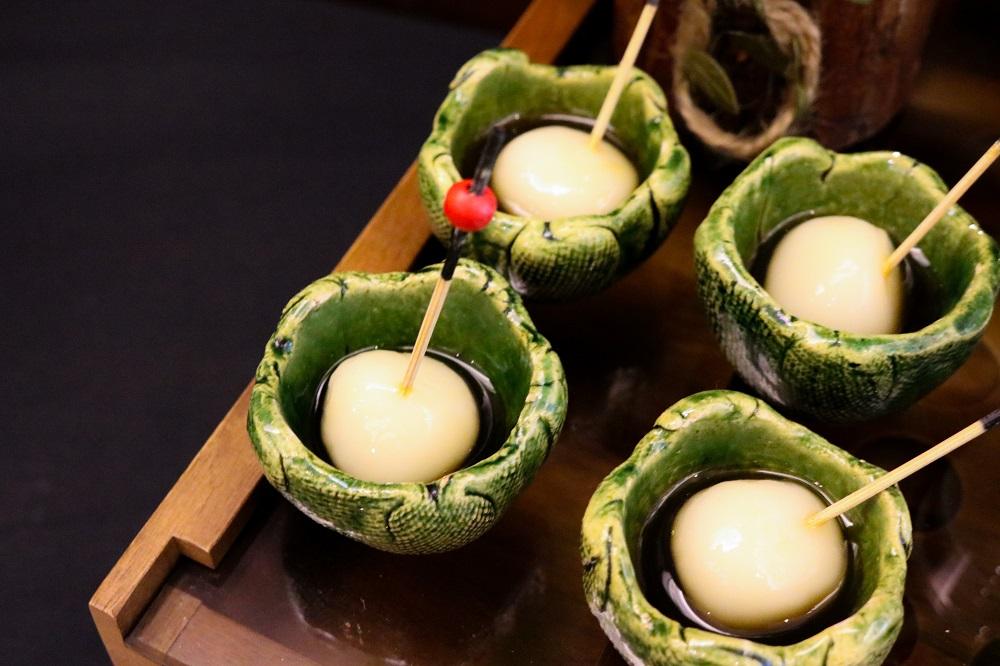 Matcha dessert buffet Shiratama Dango