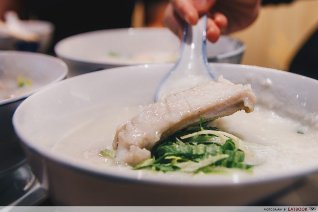 Mui Kee - Threadfin Belly congee