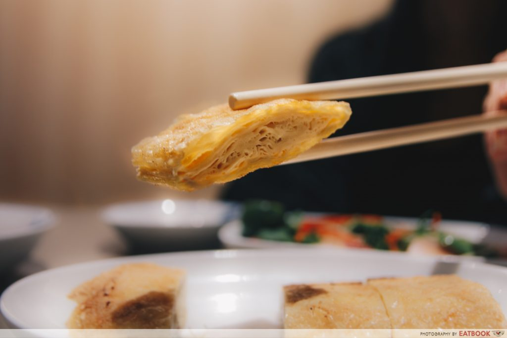 Mui kee congee fried beancurd skin