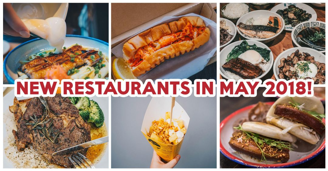 New Restaurants in May 2018 - feature image