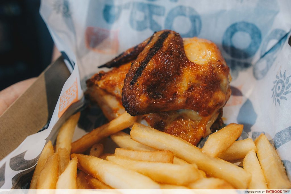 Oporto Review New Portuguese Flame Grilled Chicken Restaurant By A