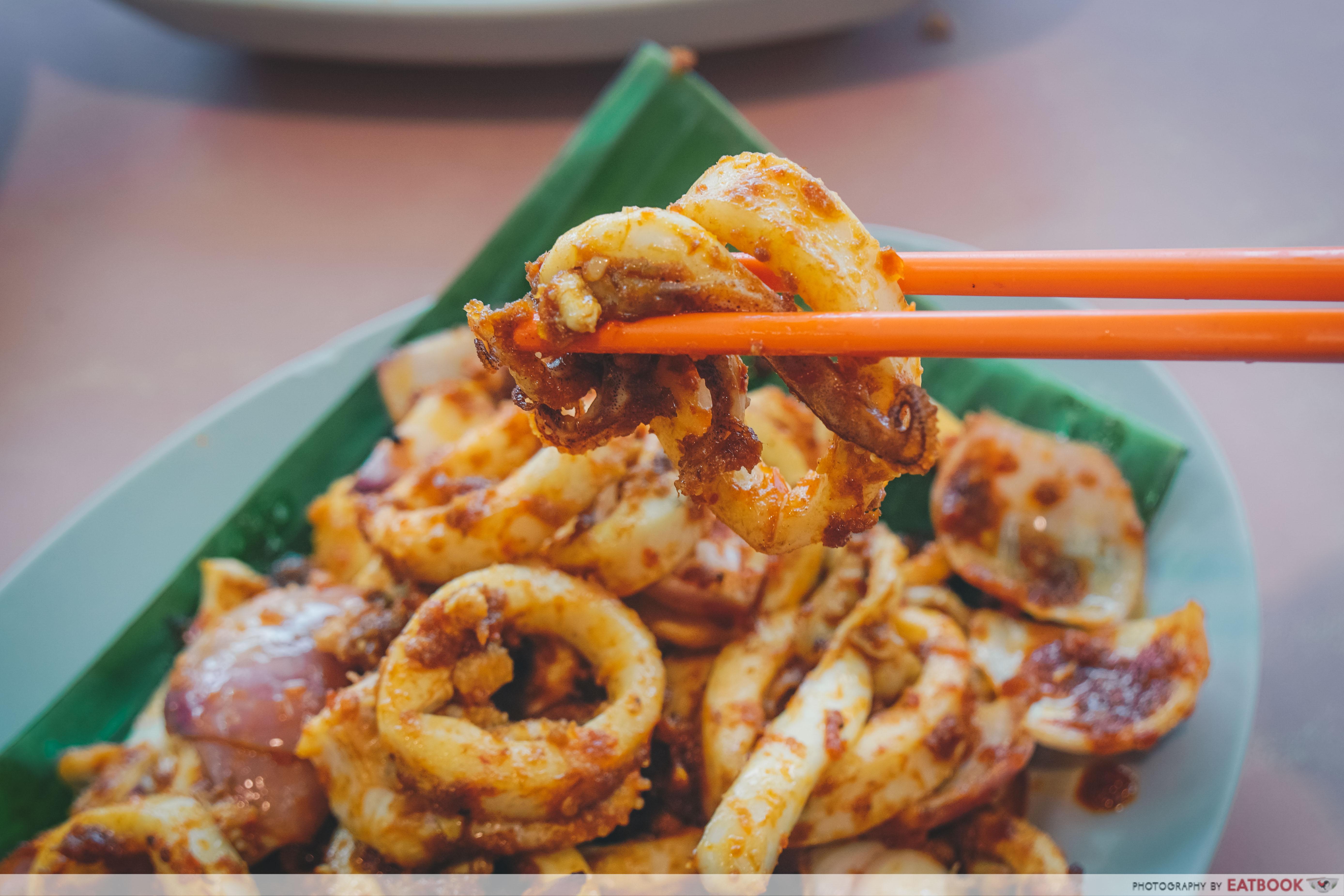 Star Yong Kwang BBQ Seafood- sotong ring