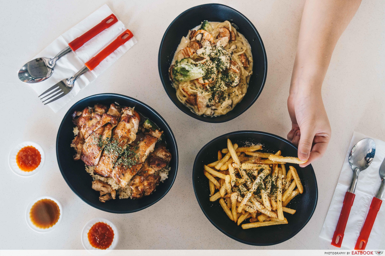 Ted's Kitchen - flatlay