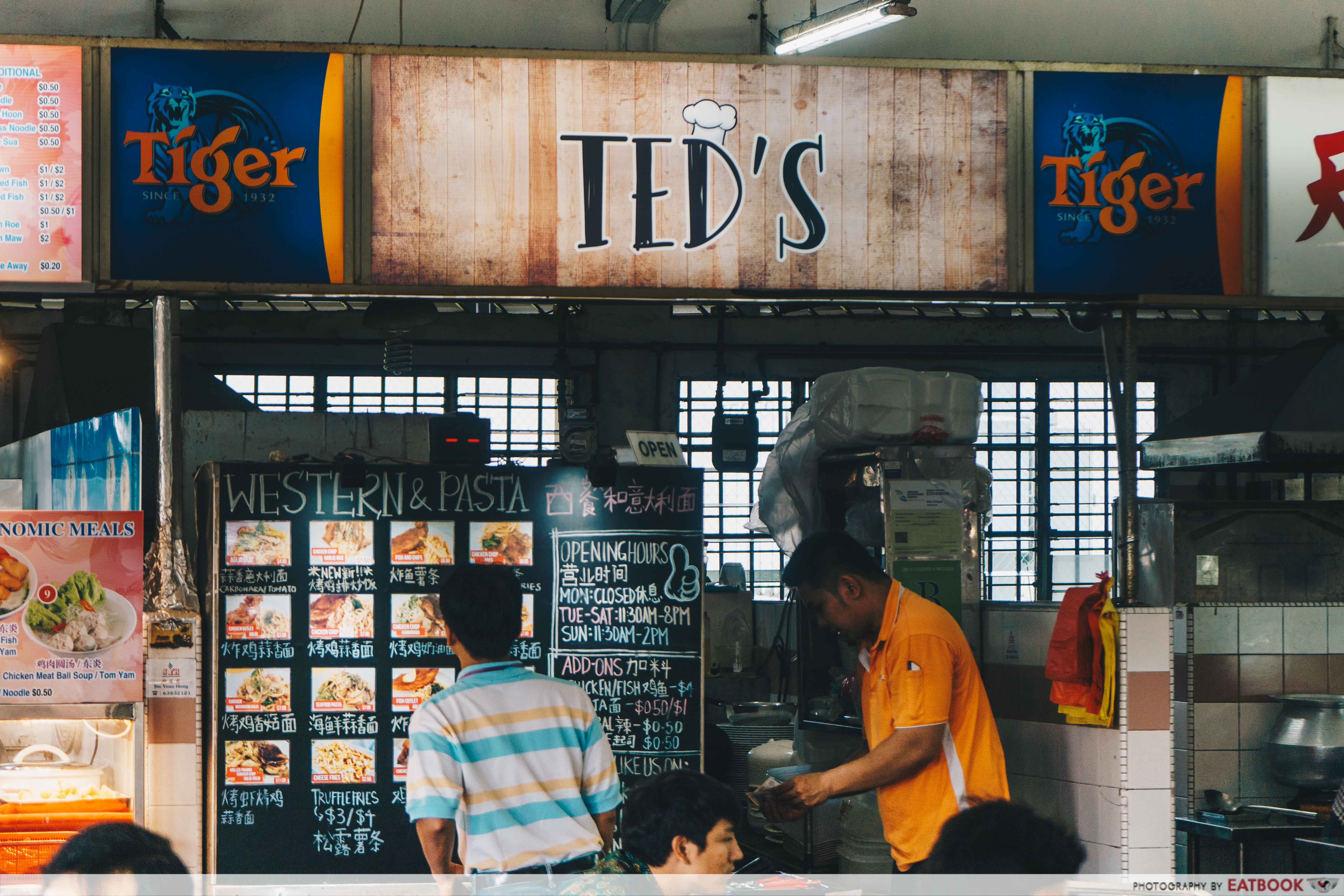 Ted's Kitchen - storefront