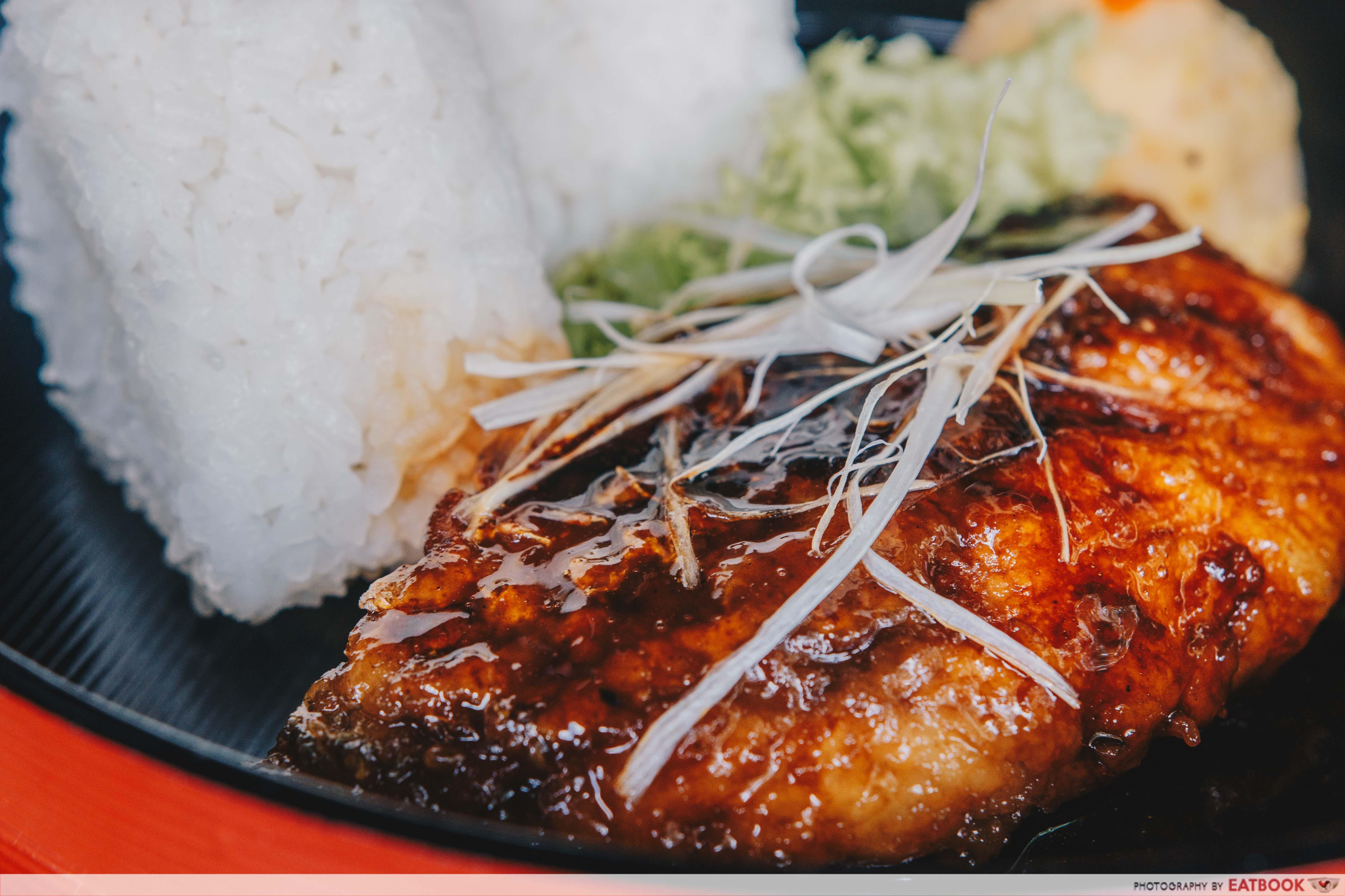 Yokozuna Stall- butter yaki seabass