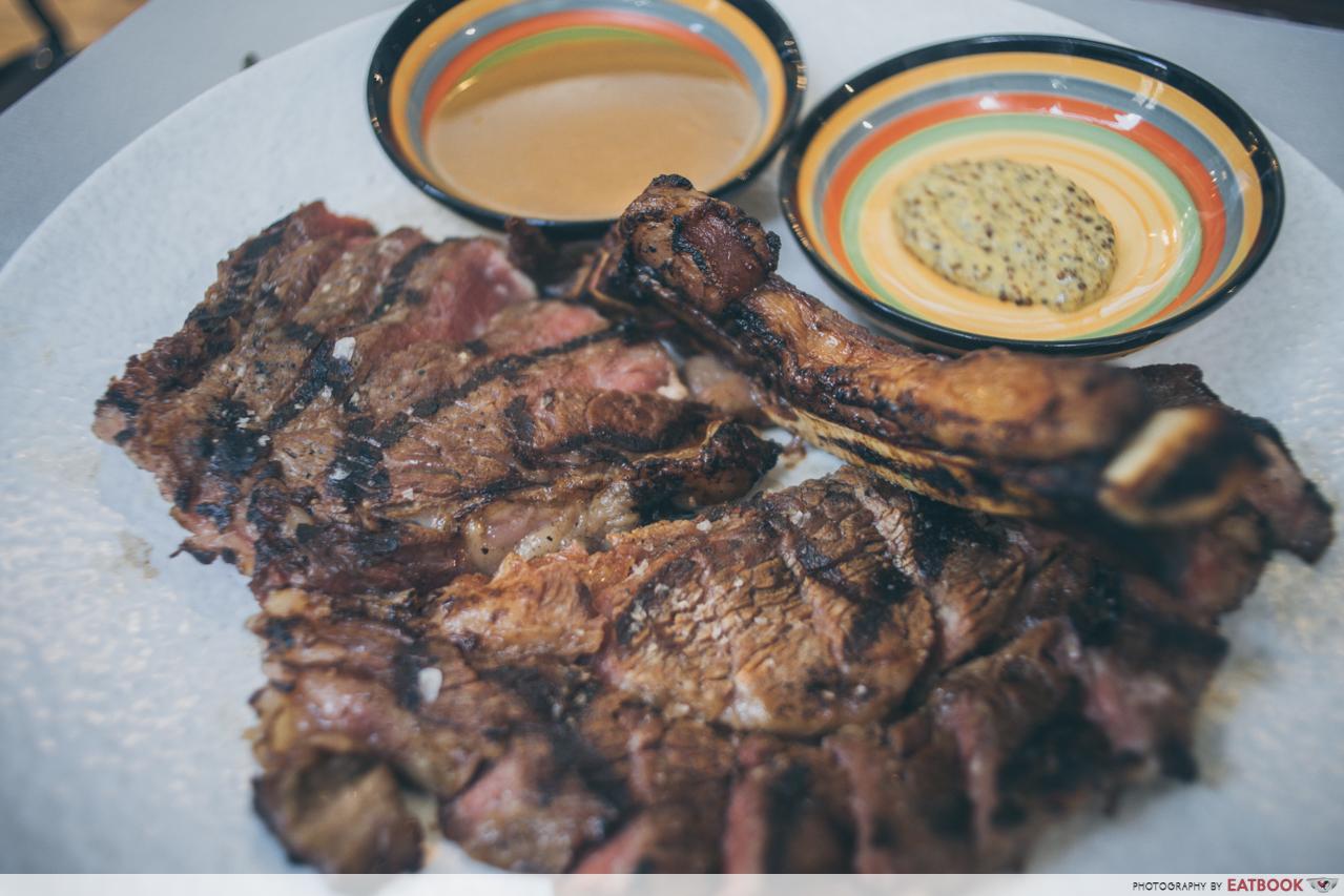 g bar and grill- bone-in ribeye