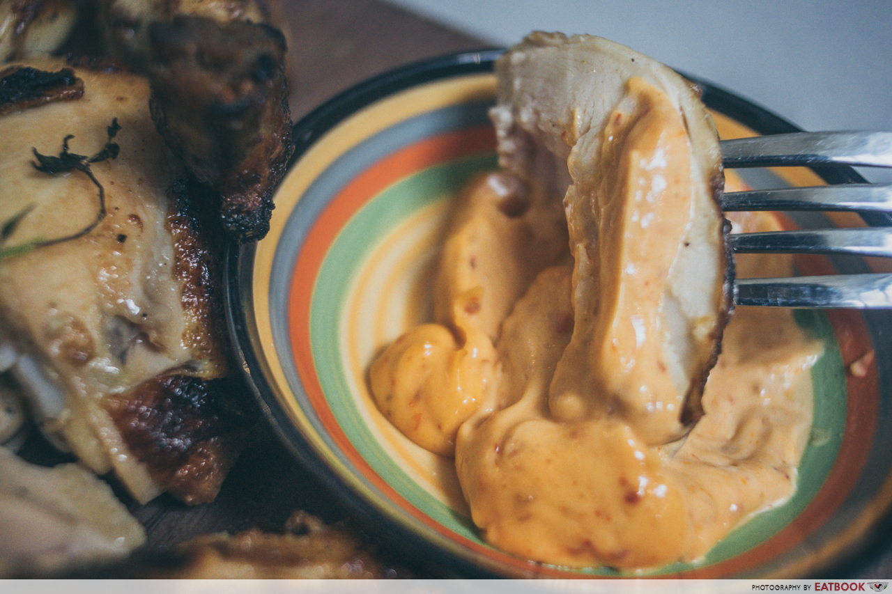g bar and grill- sambal mayo