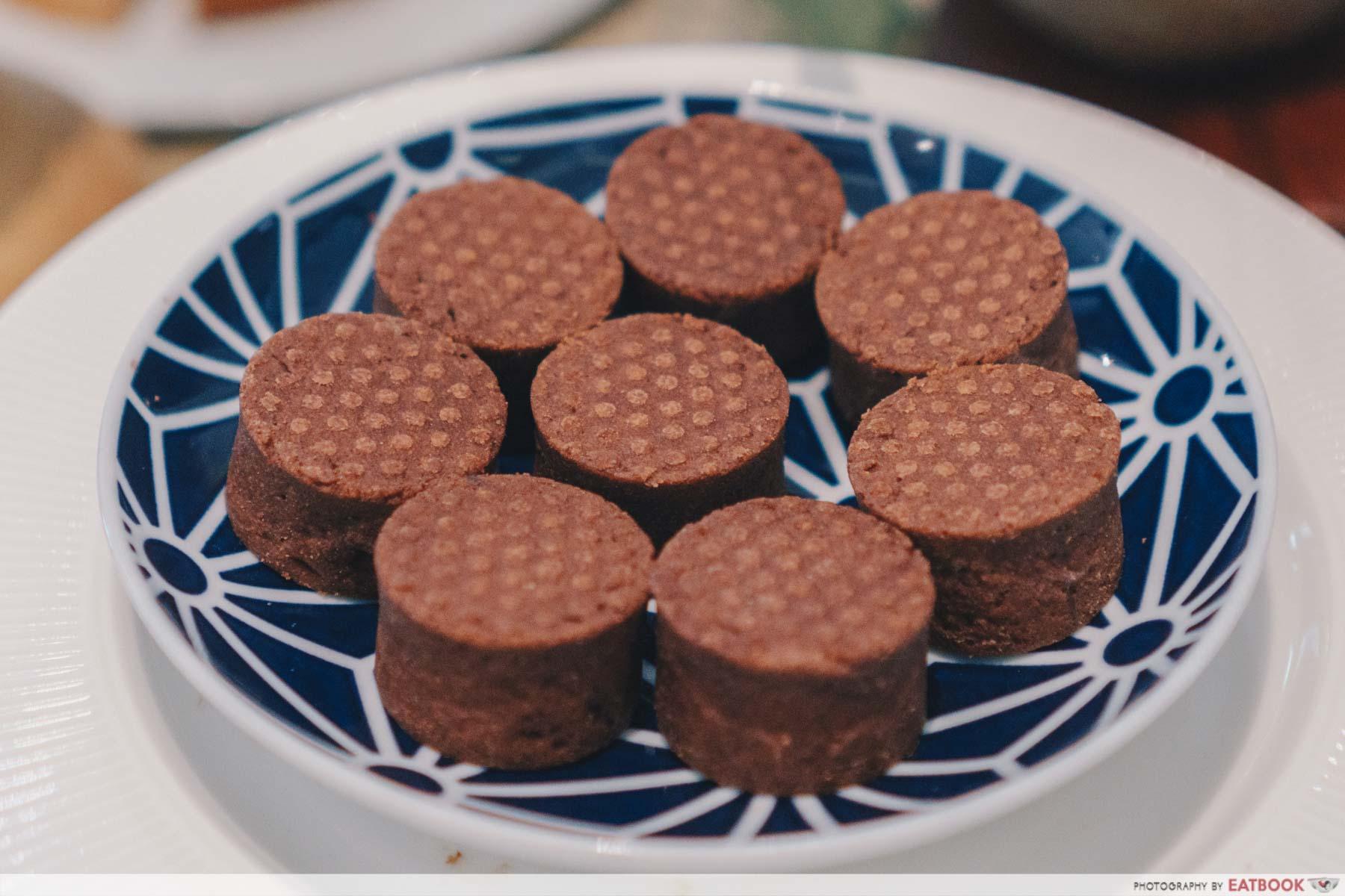 matcha dessert buffet chocolate tart