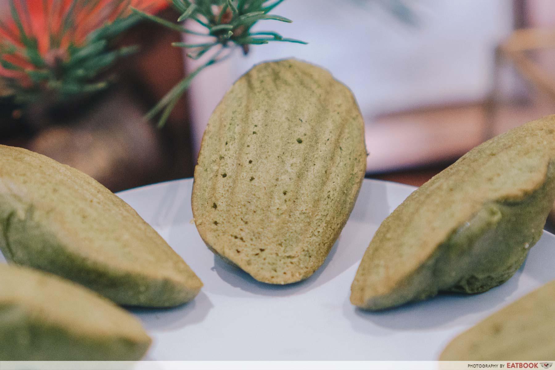 matcha dessert buffet green tea madeline