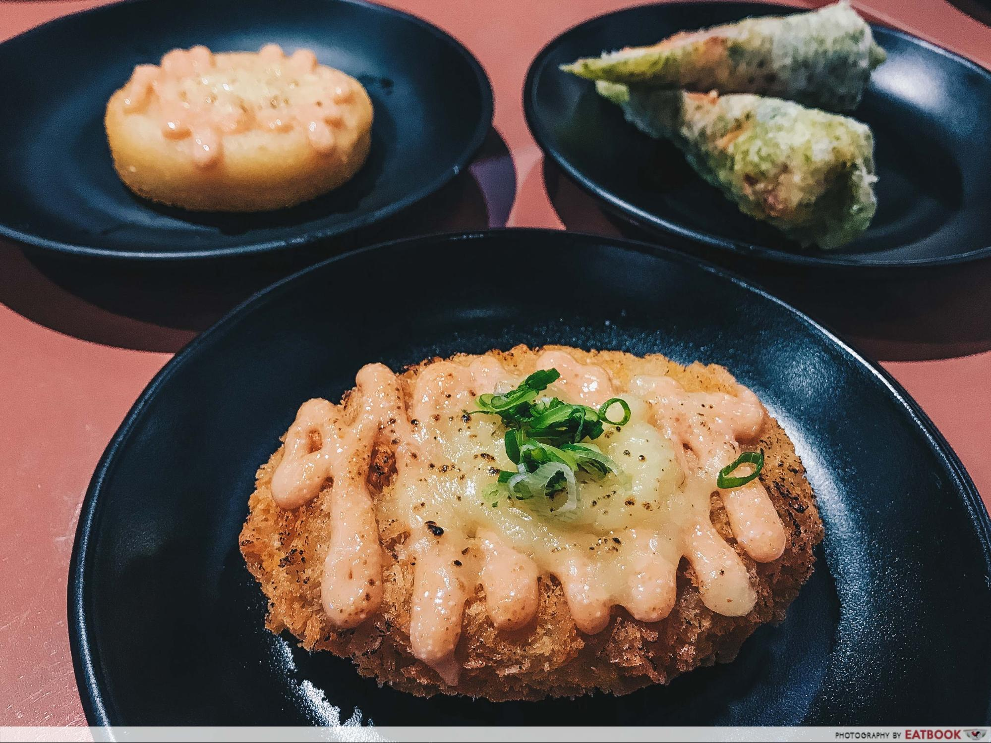 mentaiko dishes - croquette