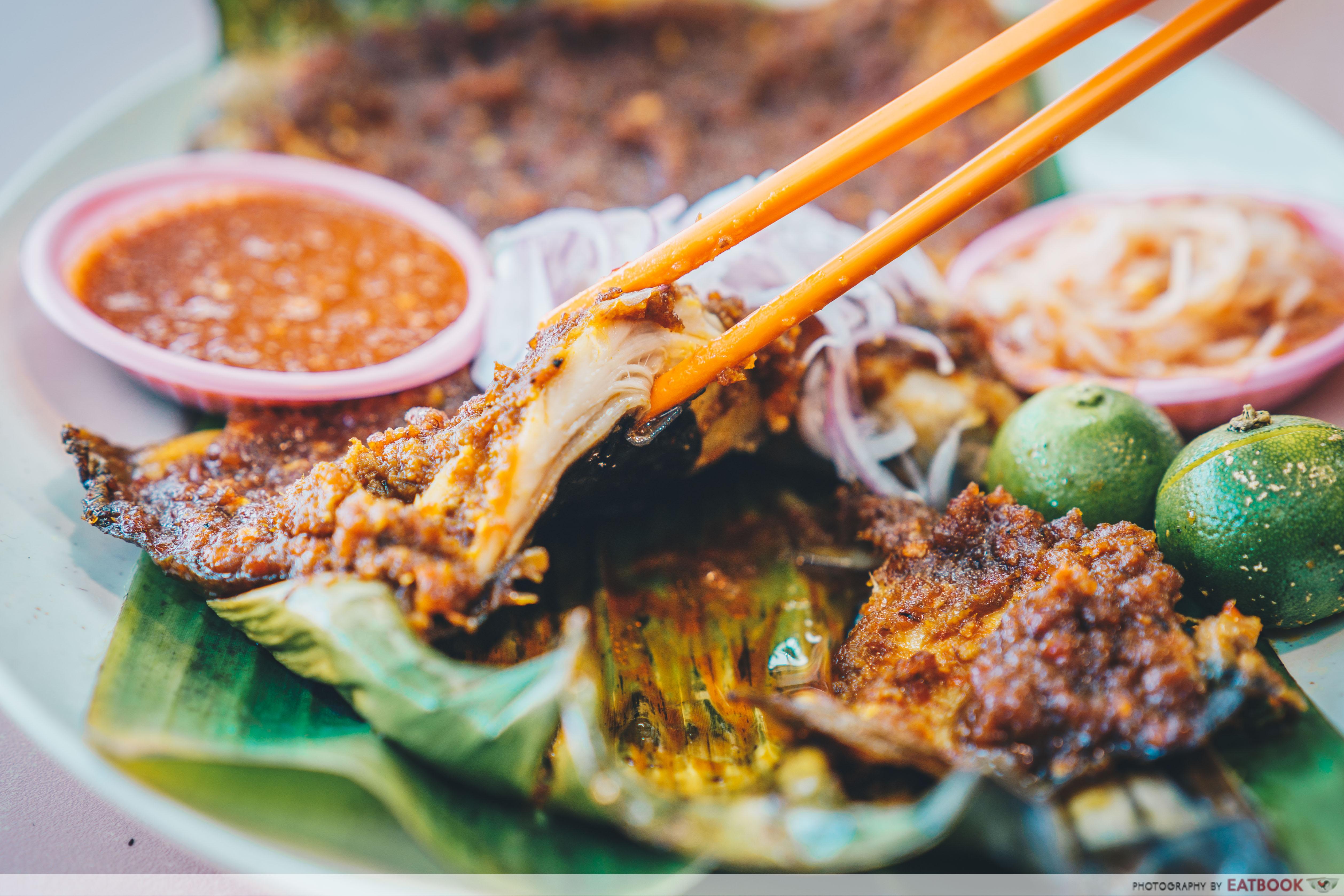 star yong kwang bbq seafood- bbq stingray (2)