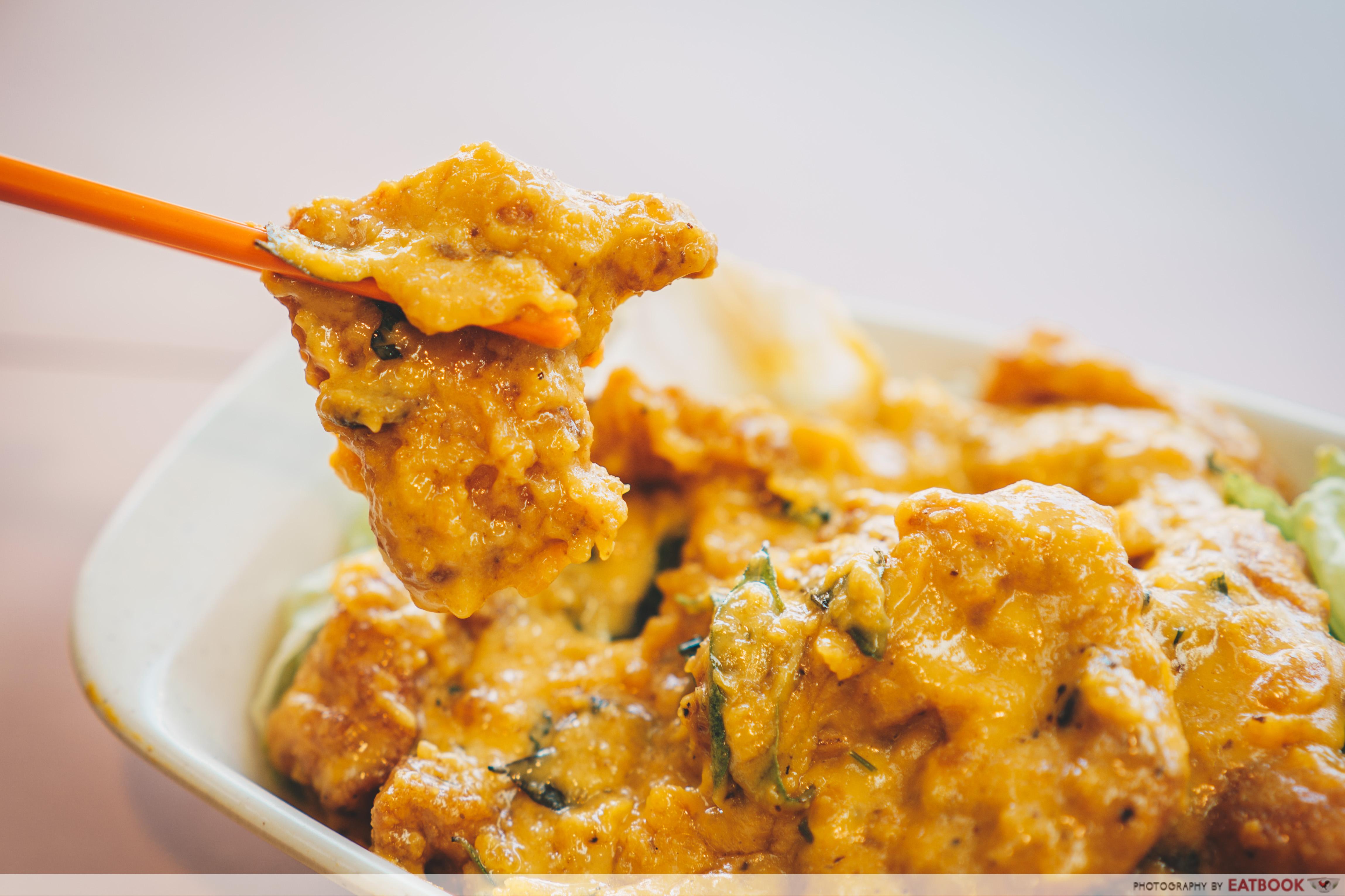 star yong kwang bbq seafood- salted egg pork ribs (2)