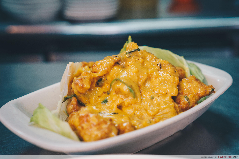 star yong kwang bbq seafood- salted egg pork ribs