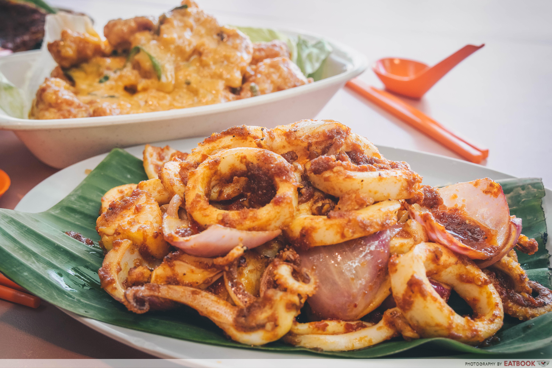 star yong kwang bbq seafood -sotong
